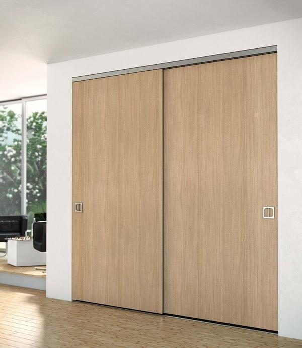 Quartet wardrobes fitted sliding wardrobe systems marbella - Porte de placard bois brut ...