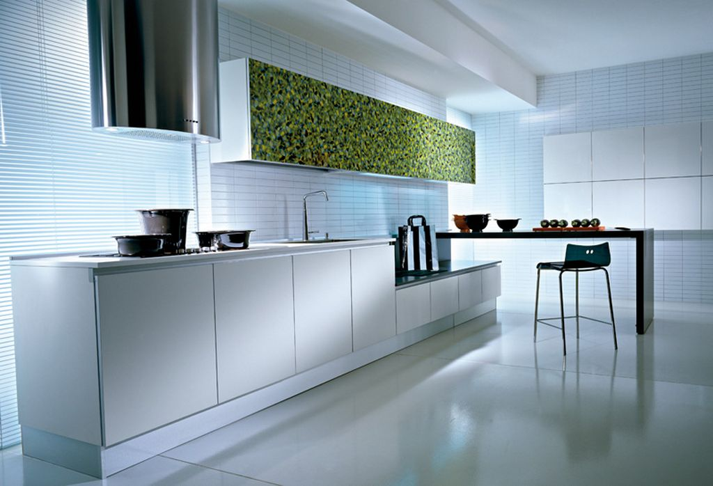 Awesome White Lacquer Kitchen Cabinets Ideas Amazing Design