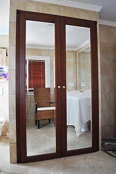 Mahogany \u0026 Mirror doors & Solid Cherry \u0026 Mirror doors Las Chapas Marbella