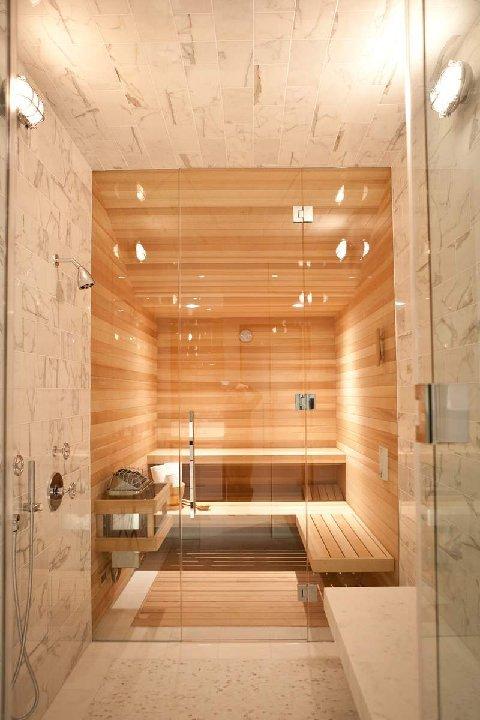 Indoor Home Sauna - Interior Design