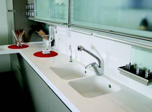 Index of images images silestone sinks and backs for Silestone sink